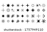 set black collection star icons ...   Shutterstock .eps vector #1757949110