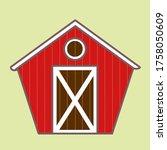 Cute Red Barn Farmhouse With...