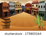 a vector illustration of old... | Shutterstock .eps vector #175805264