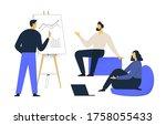 financial administration... | Shutterstock .eps vector #1758055433