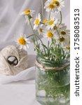 conceptual rustic jar vase... | Shutterstock . vector #1758083513