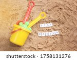 Beach Sand With Toys For The...
