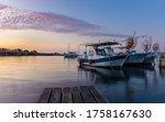 Larnaca Cyprus 06 14 2020 Dawn...