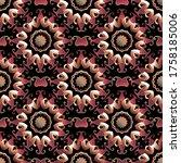 Paisley Seamless Pattern. ...