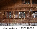 Traditional Swiss Wooden House...