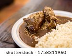 Mexican Food   Mole With...