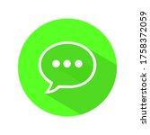 text message vector icon....