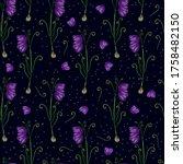 Fritillaria Plant. Vector...