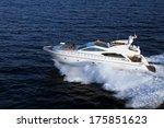 motor yacht  boat | Shutterstock . vector #175851623