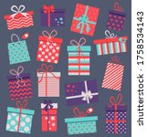 Set Of Different Presents For...