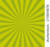 Green Pop Sunburst Background....