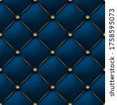 blue matte leather texture...   Shutterstock .eps vector #1758595073