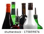Variety Of Alcoholic Beverage...