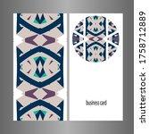 graphic ornament. vector...   Shutterstock .eps vector #1758712889