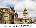 gendarmenmark is historical... | Shutterstock . vector #175873916