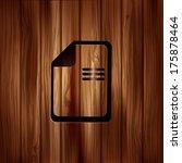 file icon. data symbol....