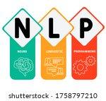neuro linguistic programming...   Shutterstock .eps vector #1758797210