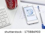 hilversum  netherlands  ... | Shutterstock . vector #175886903