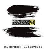 vector brushstroke background ... | Shutterstock .eps vector #1758895166