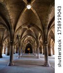 Historic Cathedral Hallway With ...