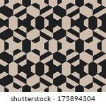 seamless vector geometric... | Shutterstock .eps vector #175894304