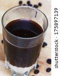 hot coffee sweetened condensed... | Shutterstock . vector #175897139