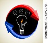 business idea concept | Shutterstock .eps vector #175897370