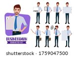 businessman character vector...   Shutterstock .eps vector #1759047500
