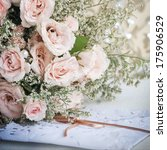 bridal bouquet  | Shutterstock . vector #175906529
