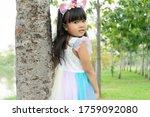 asian portrait little girl...   Shutterstock . vector #1759092080