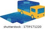 imaginary illustration of... | Shutterstock .eps vector #1759171220
