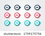 vector illustration bullet... | Shutterstock .eps vector #1759175756