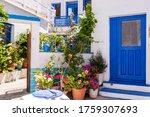 Plaka Town On Milos Island  ...