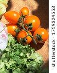 organic fresh raw vegetables... | Shutterstock . vector #1759324553