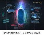 automatic braking system avoid...   Shutterstock . vector #1759384526