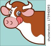cow | Shutterstock .eps vector #175940093