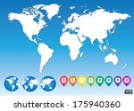 colorful map pointers for... | Shutterstock .eps vector #175940360