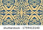 Blue Animal Skin Pattern....