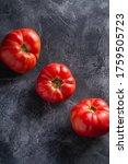 Three Pink Heirloom Tomato...