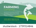 design template for farming... | Shutterstock .eps vector #1759514846