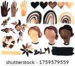 Black Lives Matter Watercolor...