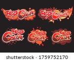 vector illustration  set... | Shutterstock .eps vector #1759752170