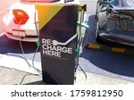electric car charging station... | Shutterstock . vector #1759812950