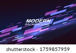 dark geometric background with... | Shutterstock .eps vector #1759857959