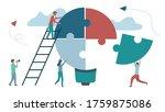 business concept  metaphor ... | Shutterstock .eps vector #1759875086