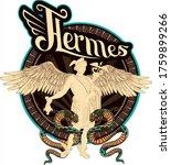 greek mythology  hermes ... | Shutterstock .eps vector #1759899266