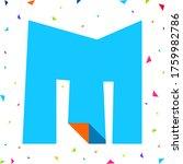 colored kids font  multi...   Shutterstock .eps vector #1759982786