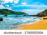 Tropical Mountain Sea Beach...