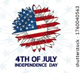 independence day 4th of july ... | Shutterstock .eps vector #1760040563