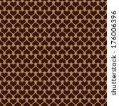 seamless heart pattern | Shutterstock . vector #176006396